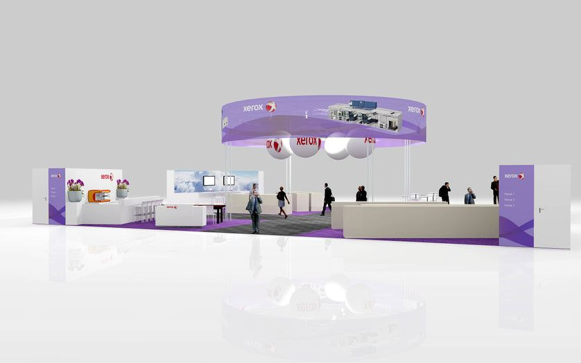 Xerox Stand GVG 2011 2