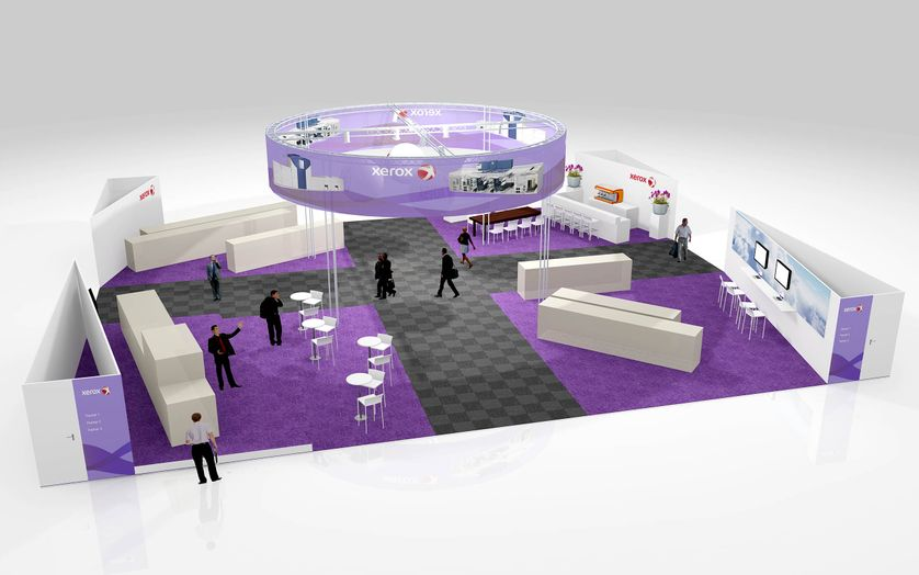 Xerox Stand GVG2011 1