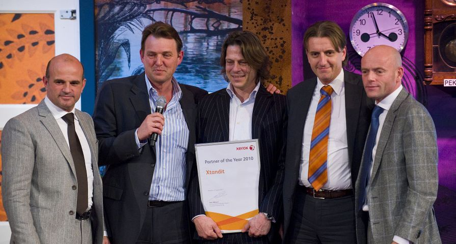 Xtandit uitgeroepen tot Xerox Partner of the Year