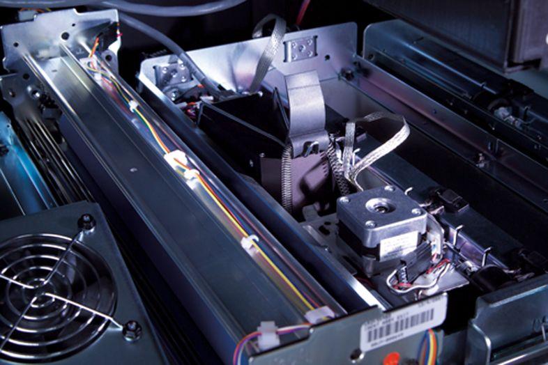 In-line fotospectraalmeting Xerox iGen4