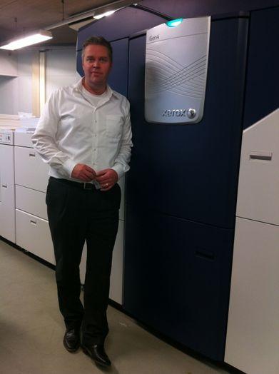 Bob van der Putte van Euro Mail bij de nieuwe iGen4