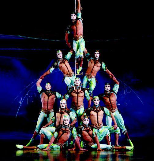 Cirque du Soleil - samenwerken