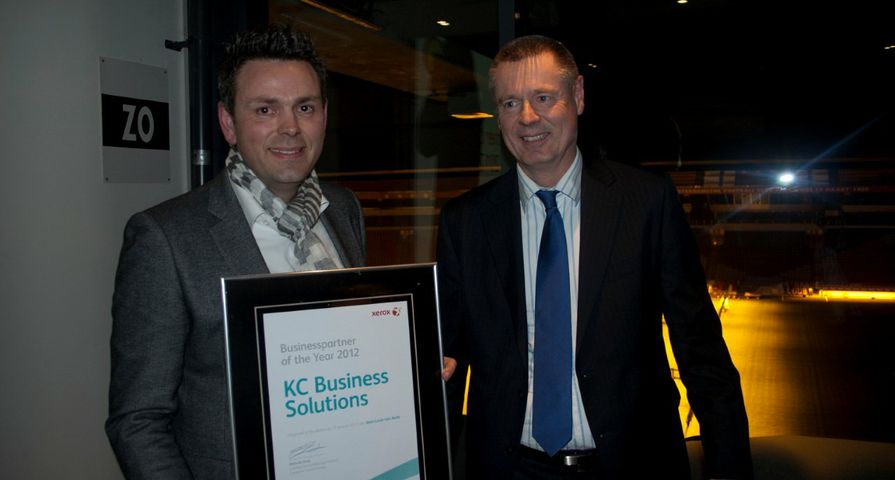 Xerox benoemt Partners of the Year 2012
