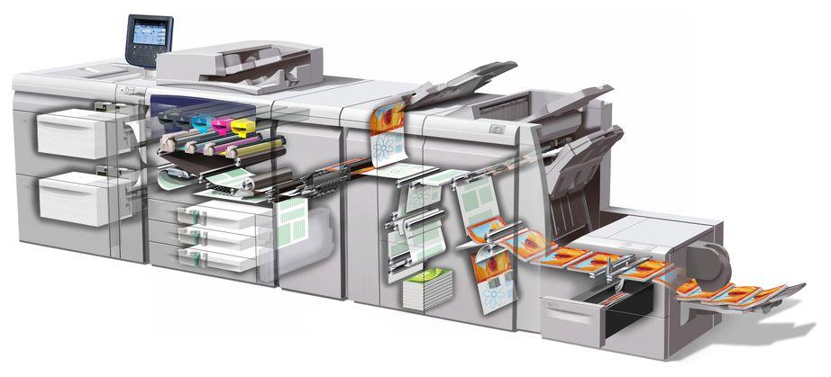 1. Dwarsdoorsnede Xerox J75