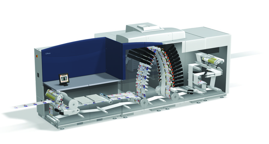 Xerox introduceert CiPress Single Engine Duplex inkjet-productiesysteem