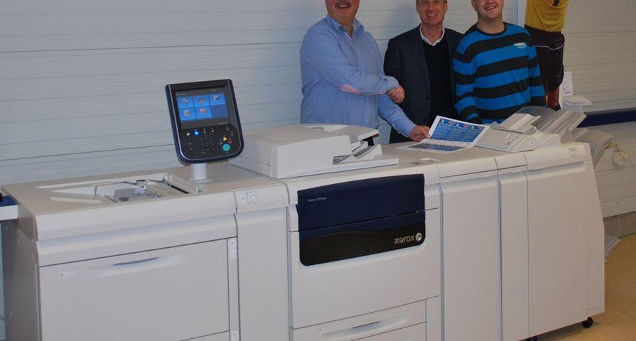 XA Graphic Solutions installeert Xerox J75 bij WK Creatieve Communicatie