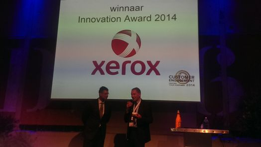 Xerox wint Innovation Award 2014