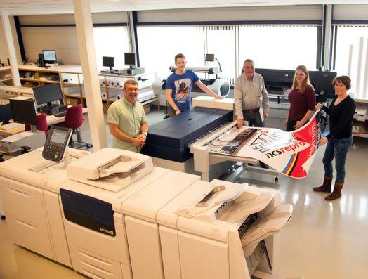 De 11e Druk - NCS Repro bij de nieuwe Xerox IJP 2000_