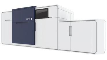 Xerox maakt inkjet toegankelijk met de allereerste, volledig geïntegreerde rol-naar-losblad pers