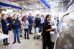 Gigaprint werkvloer tijdens opening op 24 april 2015