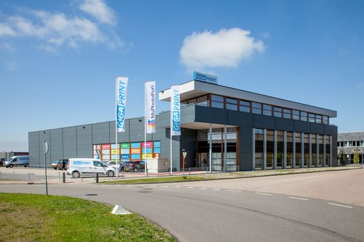 Nieuwe pand Gigaprint - Almere