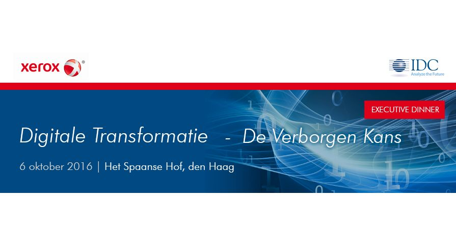Digitale transformatie_event IDC en Xerox