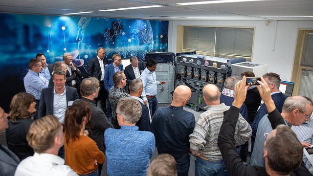 Onthulling Xerox Iridesse