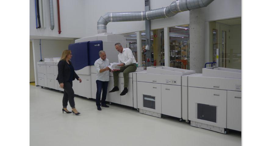 Xerox en NBD Biblion met iGen5