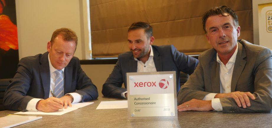 Ryan Bark Xerox en Marco Temperilli en Martijn Jansen XA