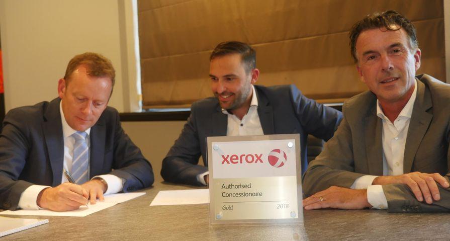 XA voor vijf jaar concessionair Xerox