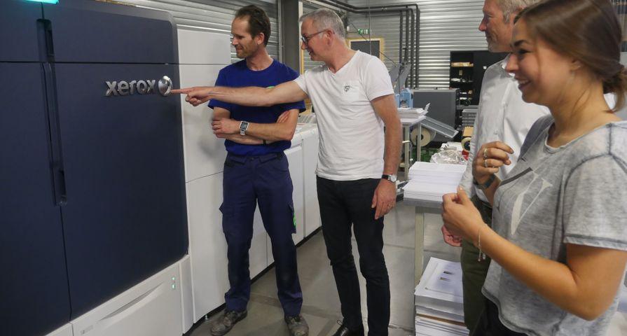De Digitale Drukker investeert in Xerox Iridesse