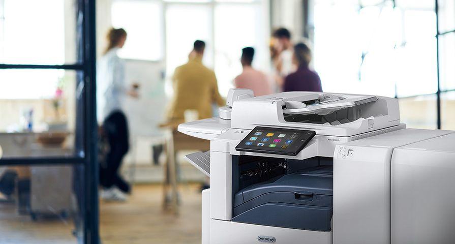 Xerox kantooromgeving