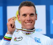 Philippe Gilbert Wins the UCI World Championships with Easton Cycling