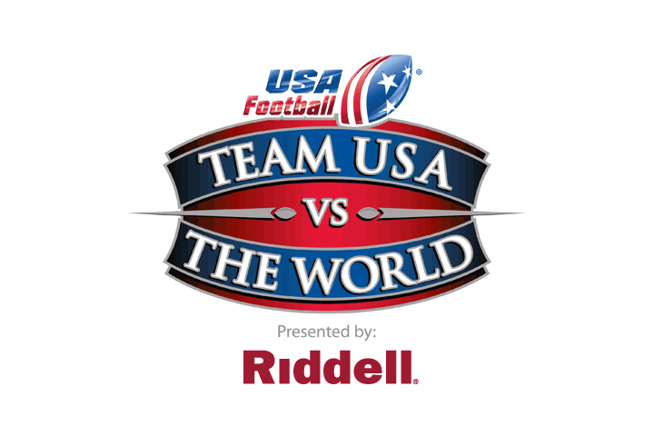 "Riddell Named Presenting Sponsor of USA Football's ""TEAM USA VS. THE WORLD"" Game"