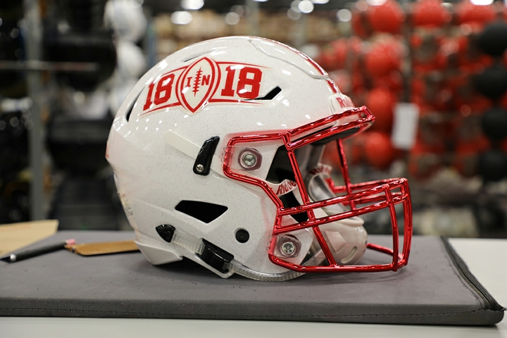 18 in 18 Smarter Football Helmet