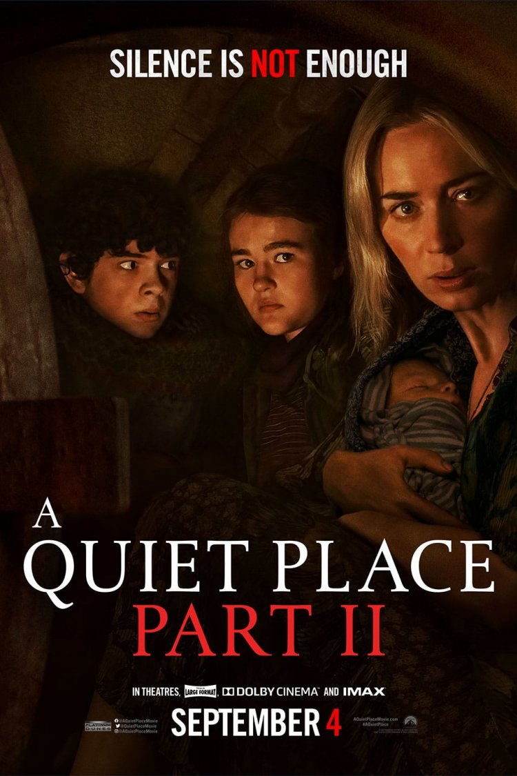 """A Quiet Place Part II"" movie poster"