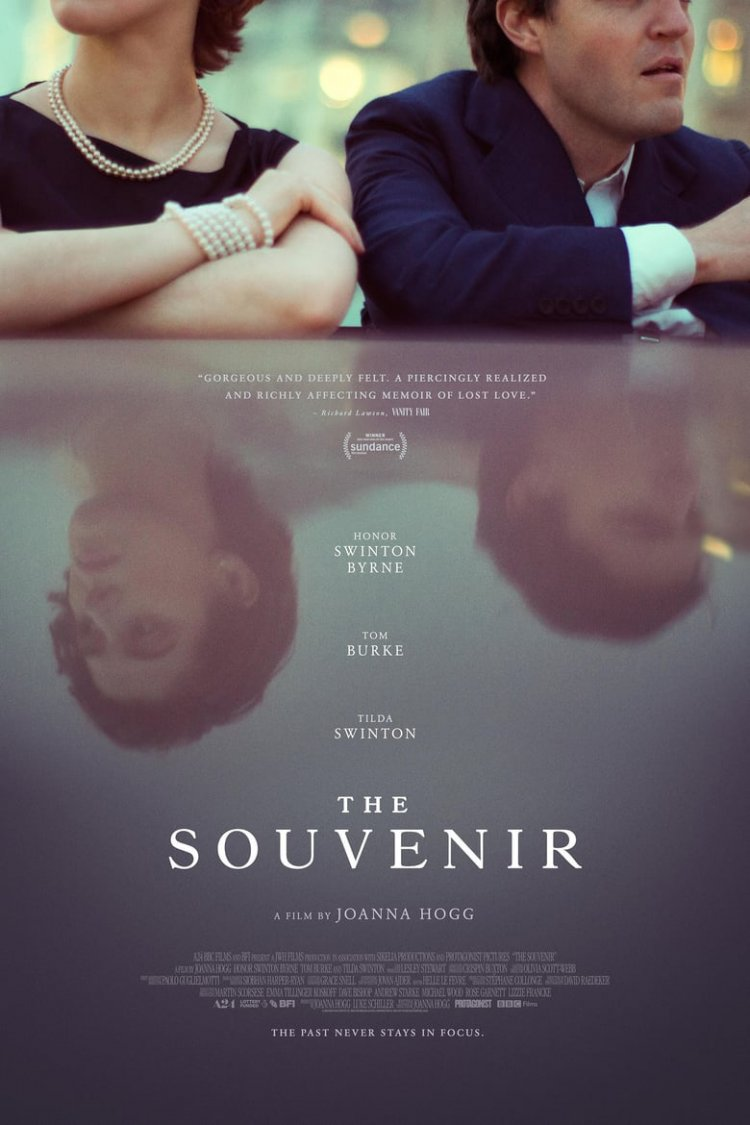 """The Souvenir"" movie poster"