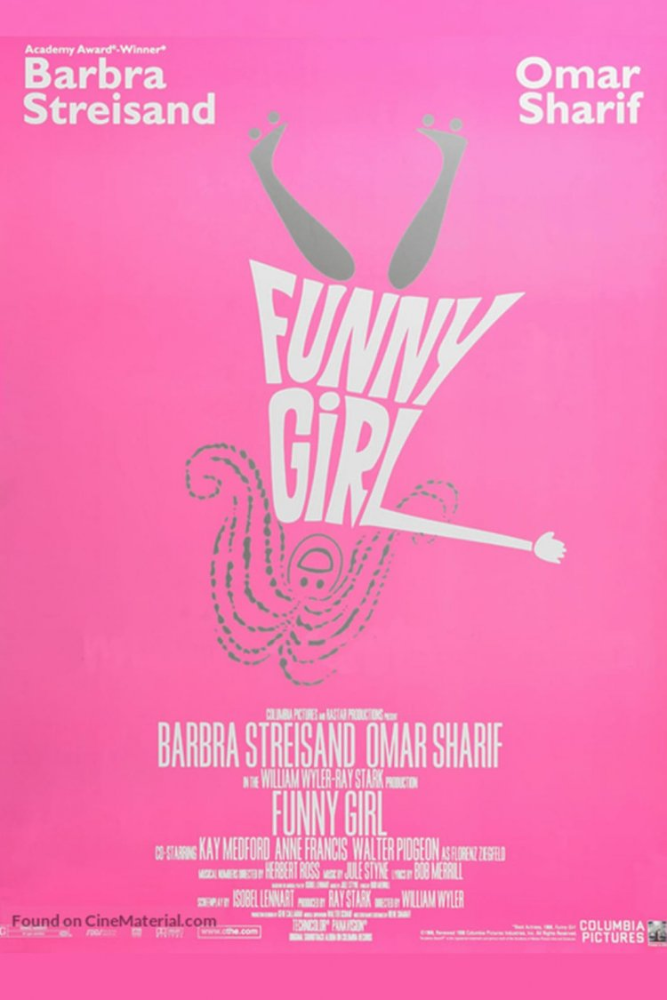 """Funny Girl"" movie poster"