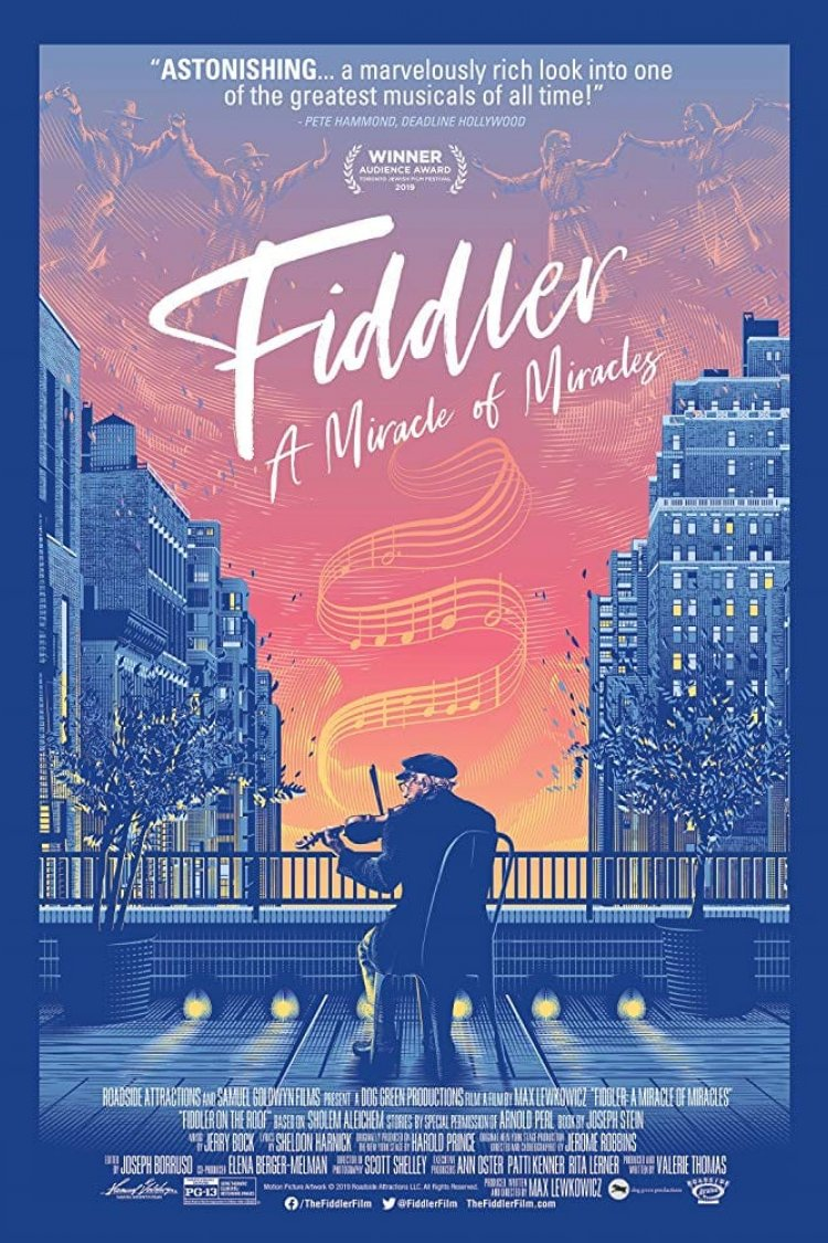 """Fiddler: A Miracle Of Miracles"" movie poster"