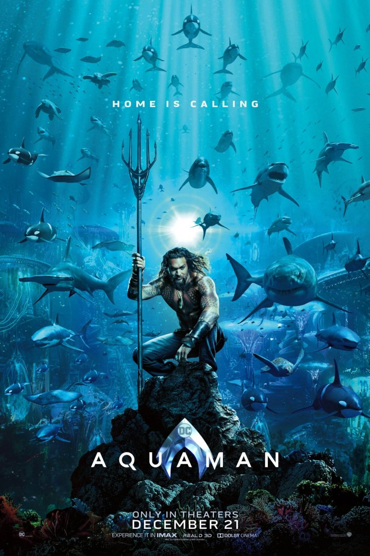 """Aquaman"" movie poster"
