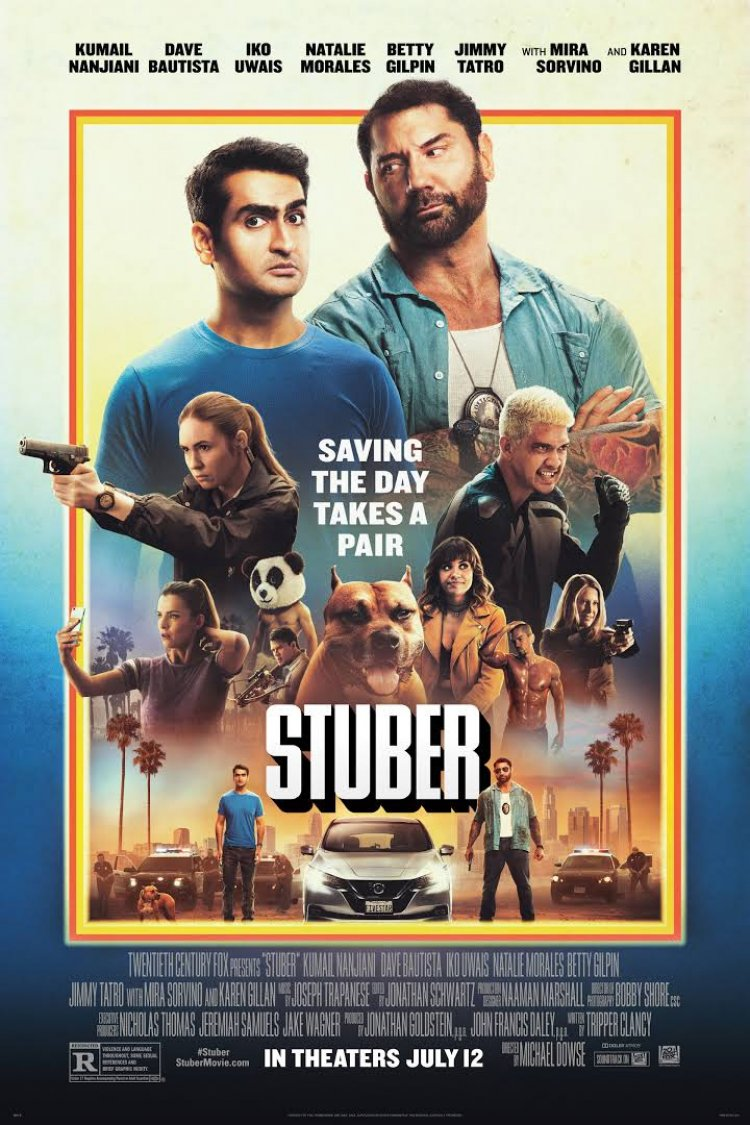 """Stuber"" movie poster"
