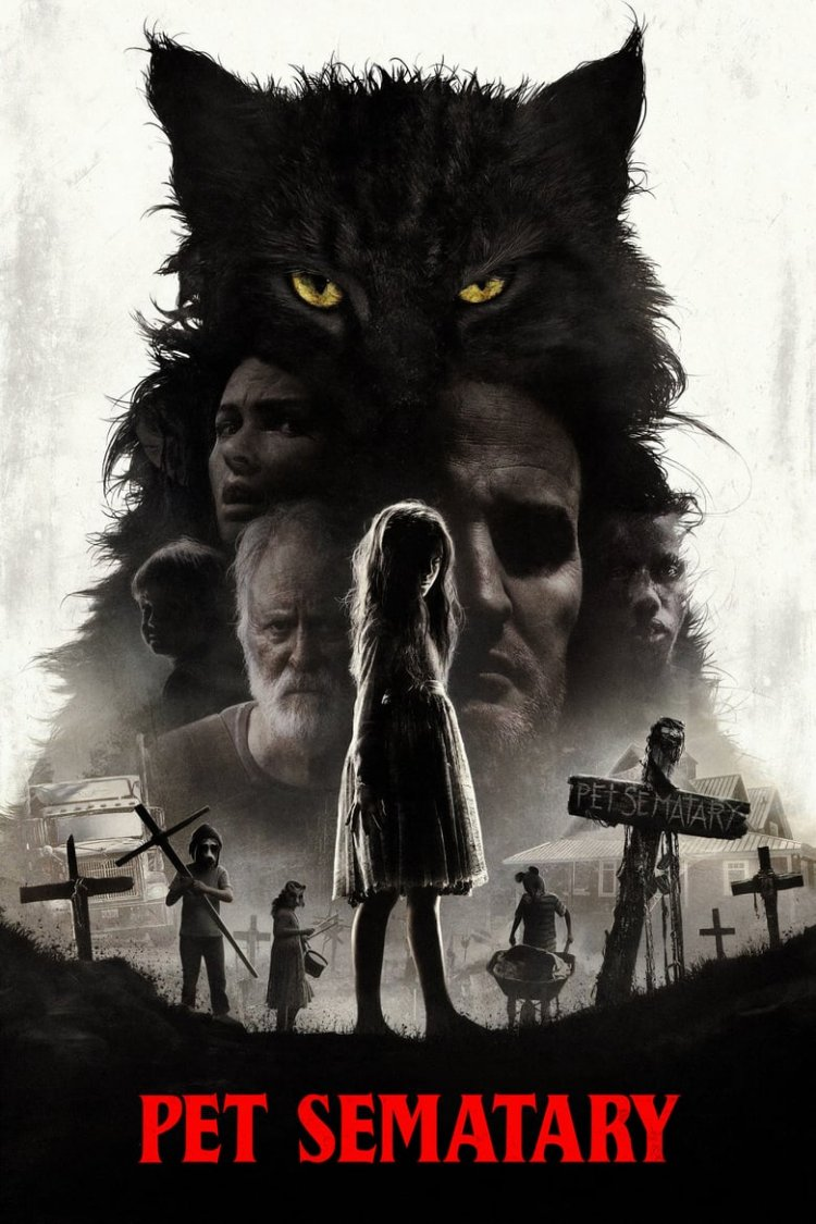 """Pet Sematary"" movie poster"
