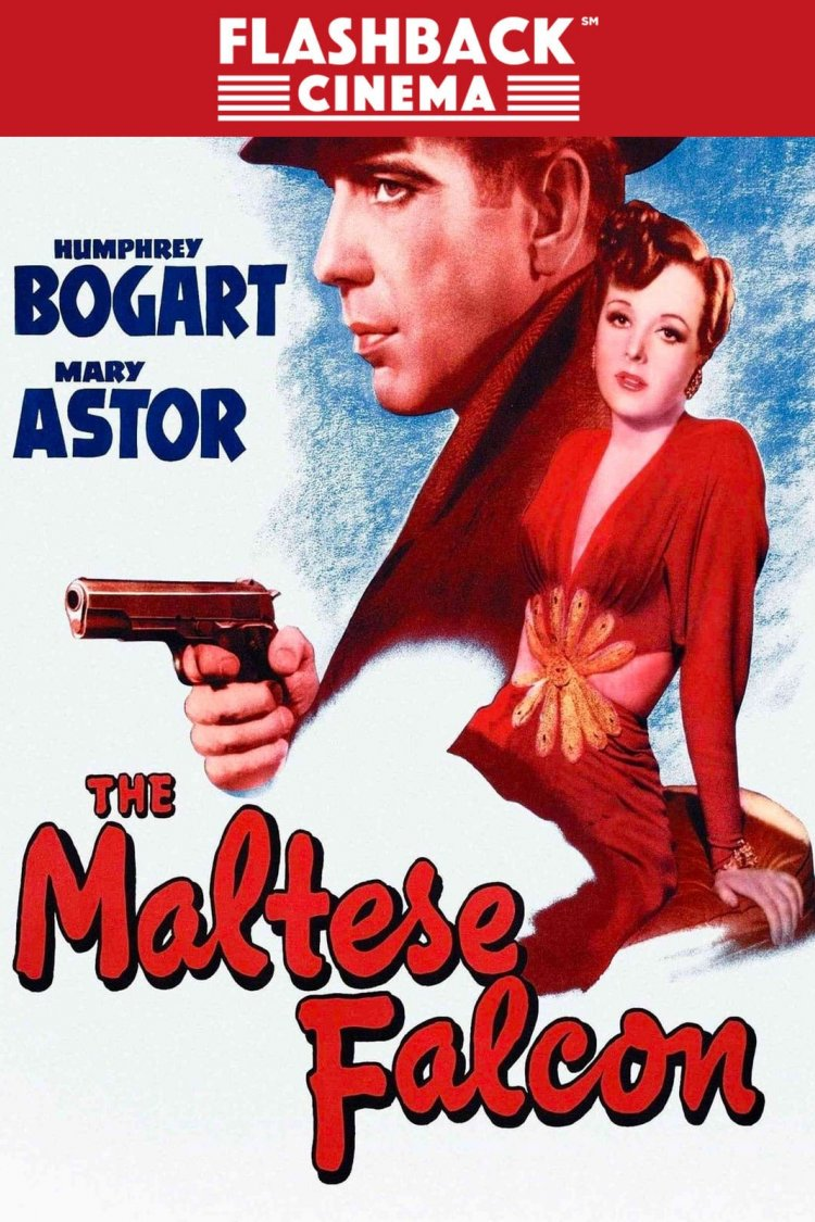 """The Maltese Falcon"" movie poster"