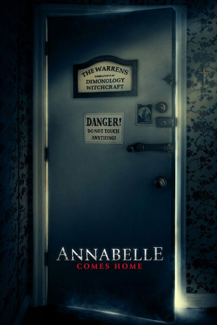 """Annabelle Comes Home"" movie poster"
