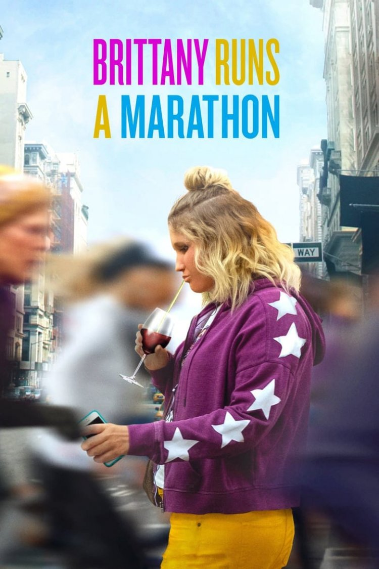 """Brittany Runs A Marathon"" movie poster"