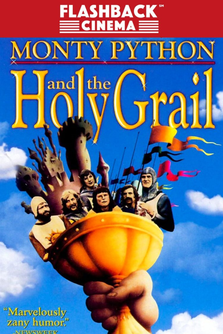 """Monty Python & The Holy Grail"" movie poster"