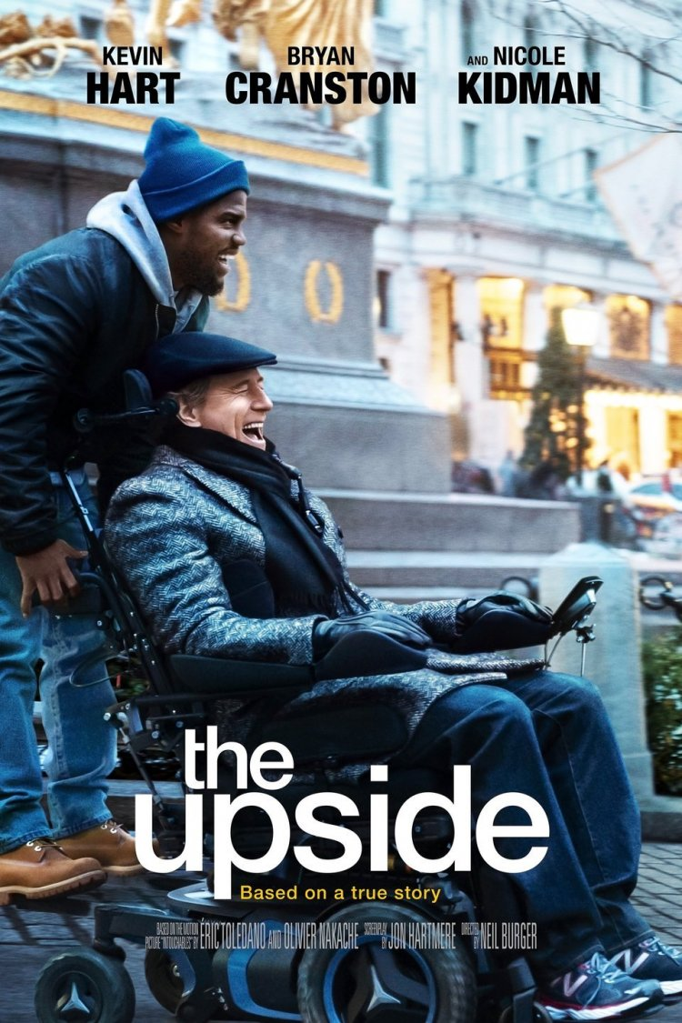 """The Upside"" movie poster"
