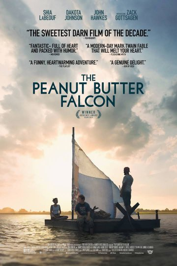 """The Peanut Butter Falcon"" movie poster"