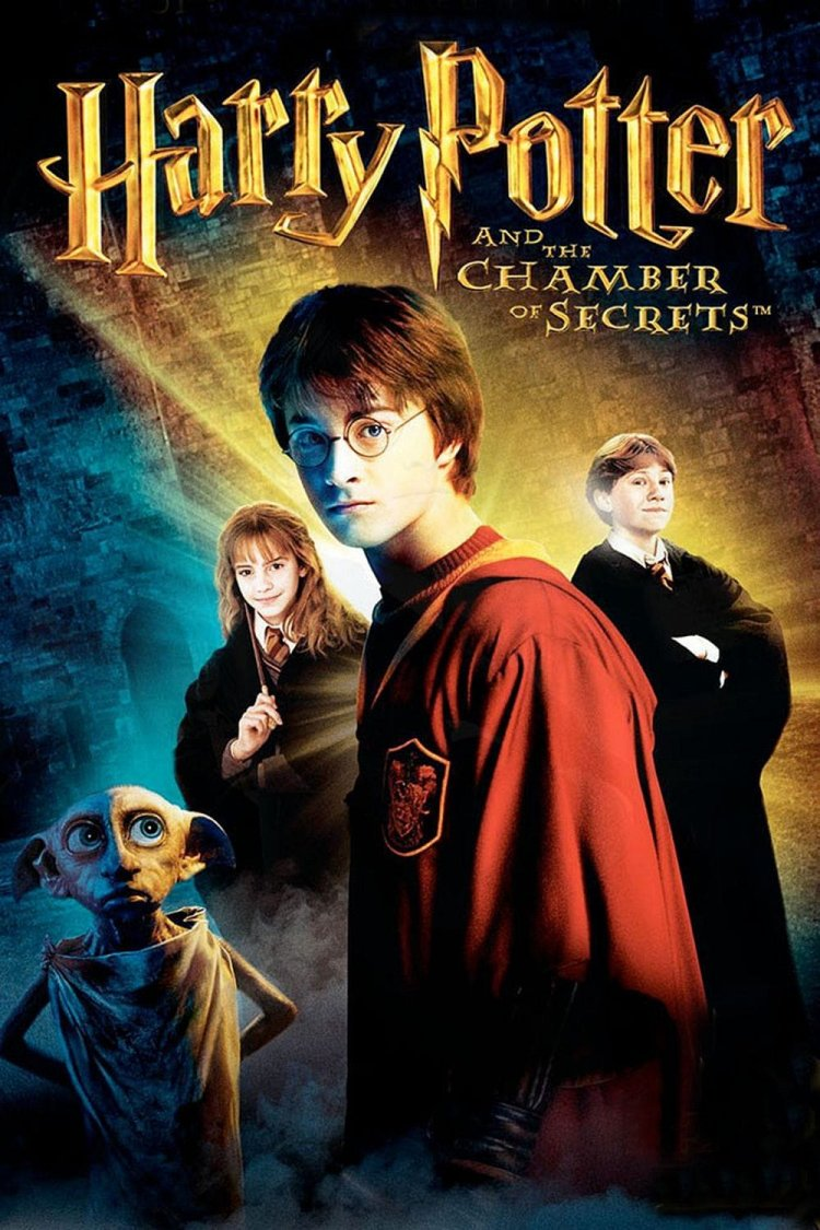 """Harry Potter & The Chamber of Secrets"" movie poster"