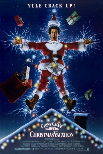 """Christmas Vacation"" movie poster"