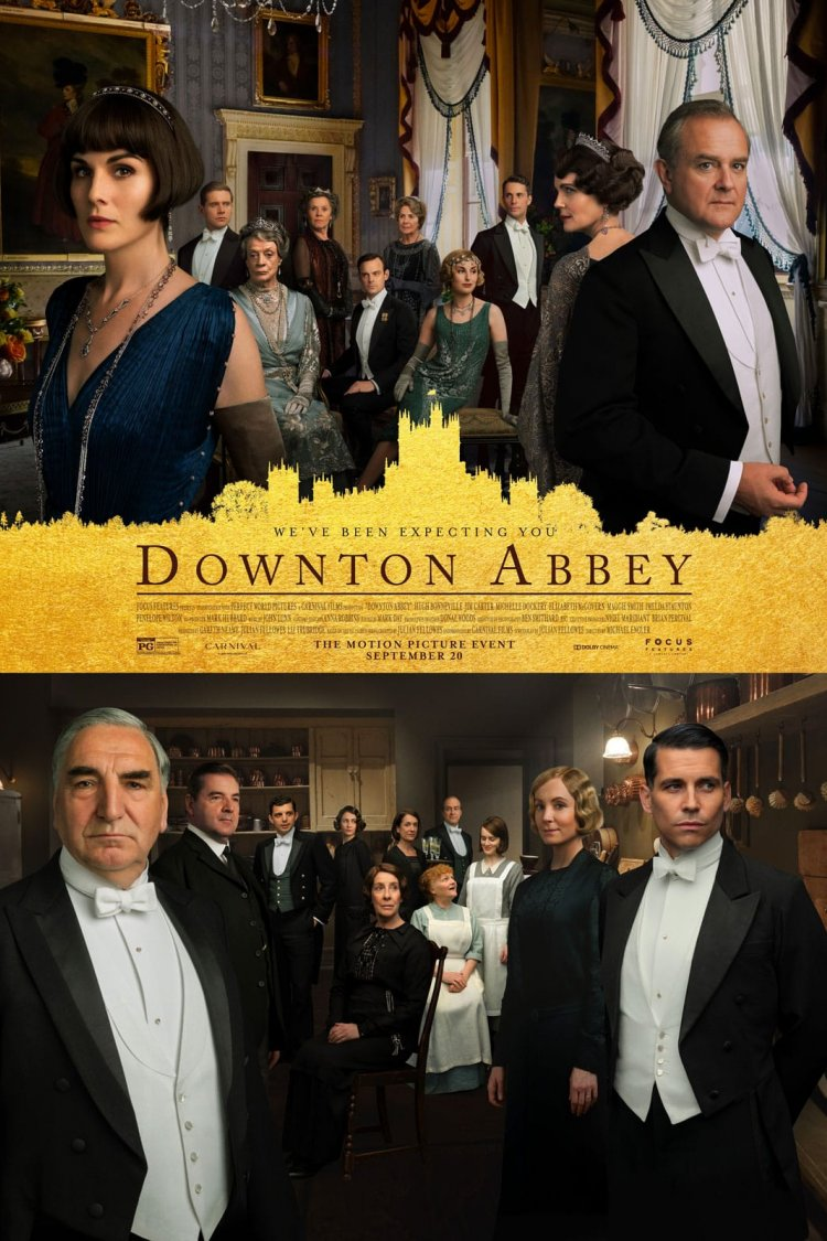 """Downton Abbey: The Movie"" movie poster"