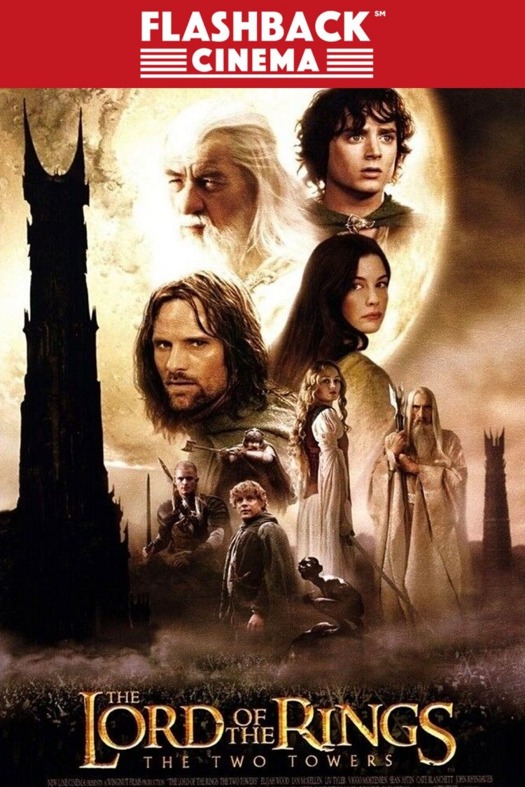 """Lord of the Rings: The Two Towers"" movie poster"