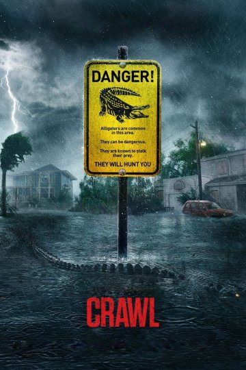 """Crawl"" movie poster"