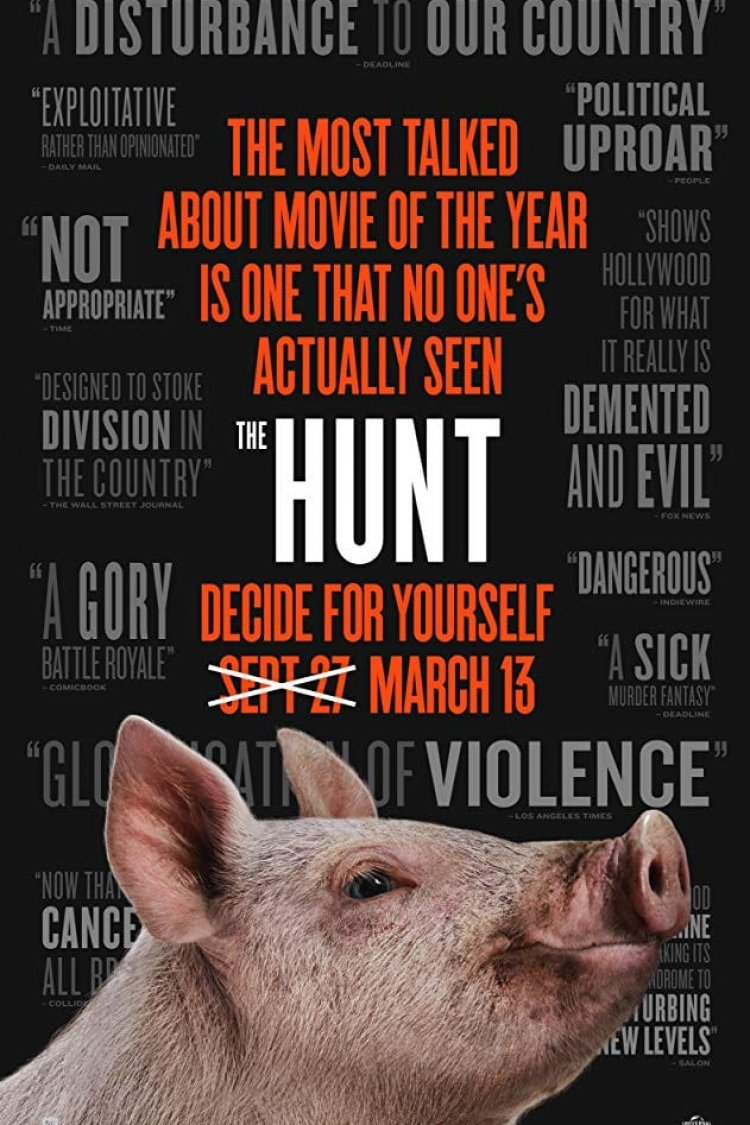 """The Hunt"" movie poster"