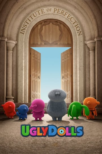 """Uglydolls"" movie poster"