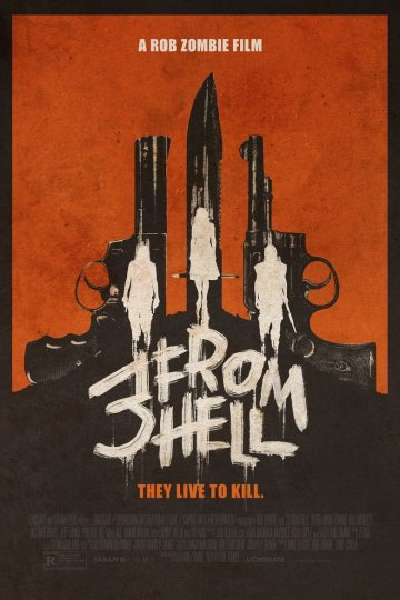 """3 from Hell"" movie poster"