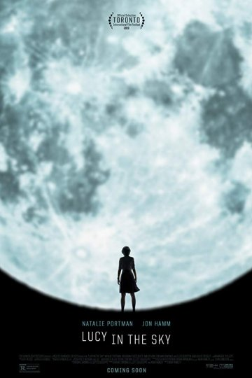 """Lucy In The Sky"" movie poster"