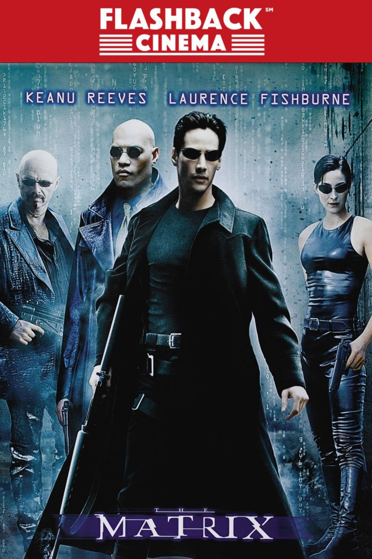 """The Matrix"" movie poster"