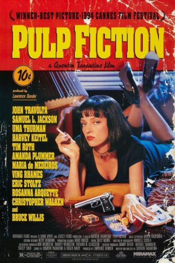 """Pulp Fiction"" movie poster"