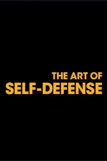 """The Art of Self-Defense"" movie poster"